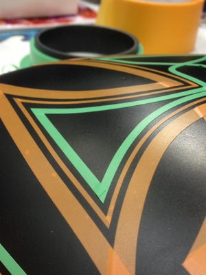 Image of JTAPE GREEN FINE LINE TAPE (TIGHT CURVES) 3MM X 55M