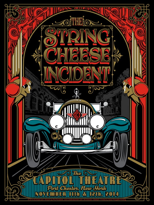 Image of The String Cheese Incident - Capitol Theatre Port Chester, NY 2014