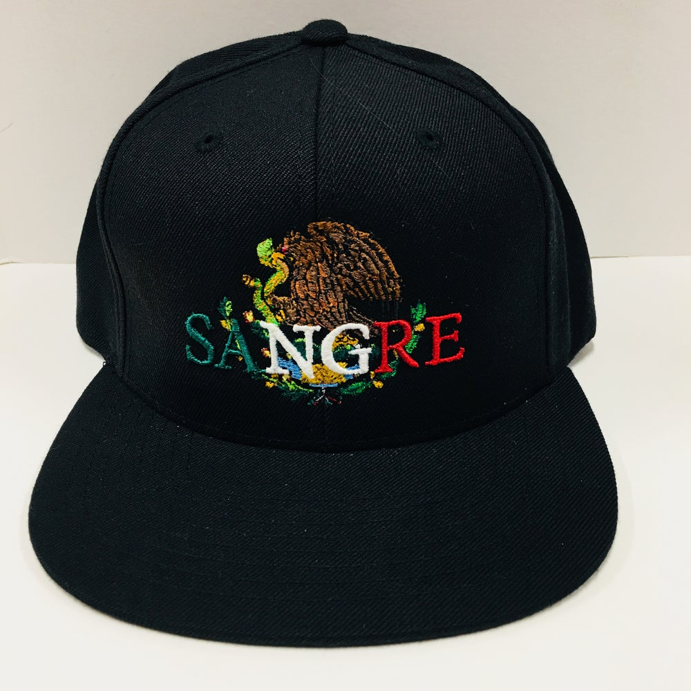 Image of Mexican Sangre SnapBacks