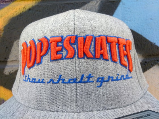 Image of Pope Skates Thou Shalt Grind Hat Heather