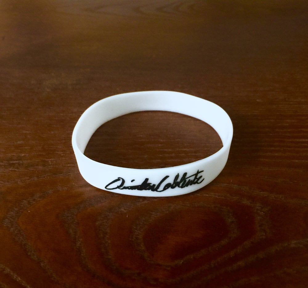 Image of Glow-in-the-dark Signature Wrist Band