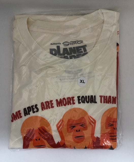 """Image of """"Three Orangutans"""" <br>L.E. Print & T-Shirt Combo <br>Limited Edition <br>Various T-Shirt Sizes"""