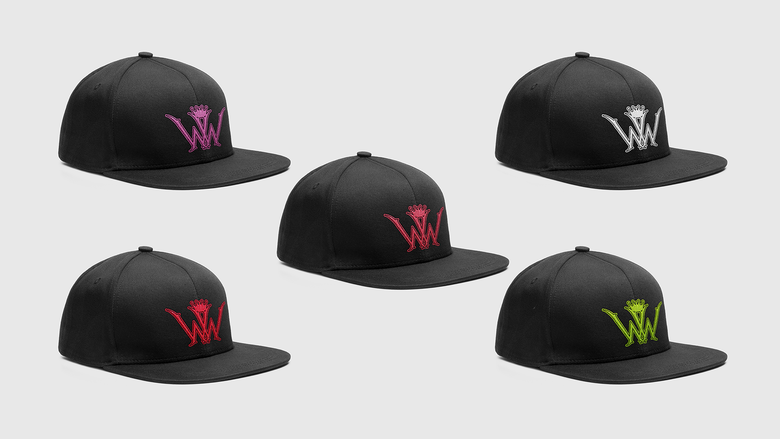 Image of Wiked Wood Snap Back Hat
