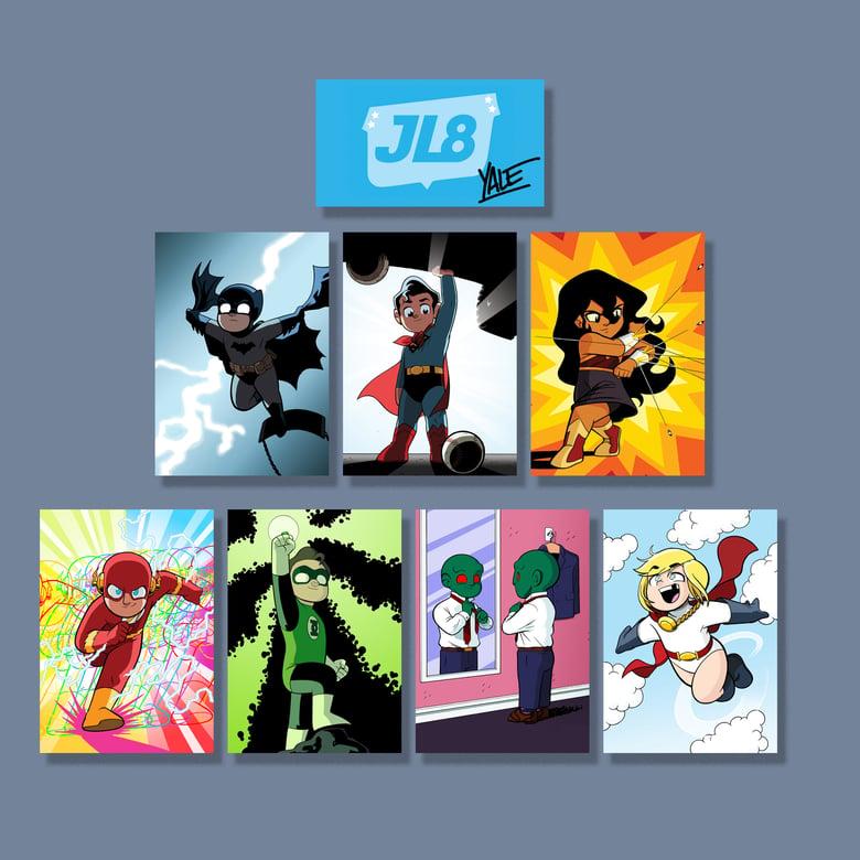 Image of *NEW* JL8 Character Photo Set