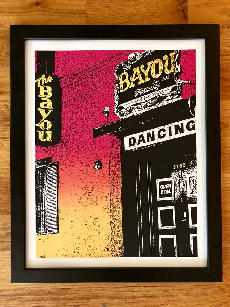 Image of The Bayou Silk Screened Art Print