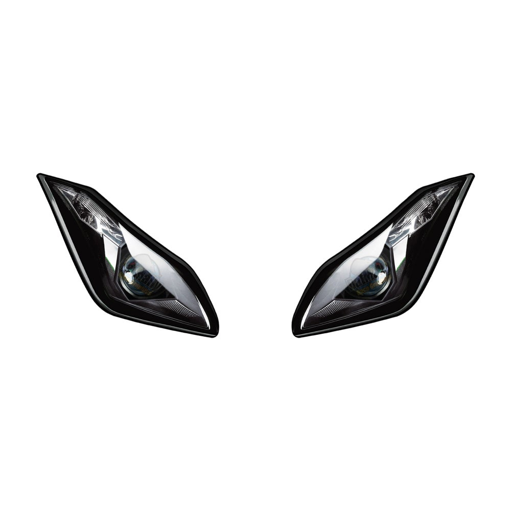 Image of Headlight Stickers To fit Kawasaki ZX-6R 636 Ninja 2013>