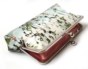 Image of Loch leaf clutch bag