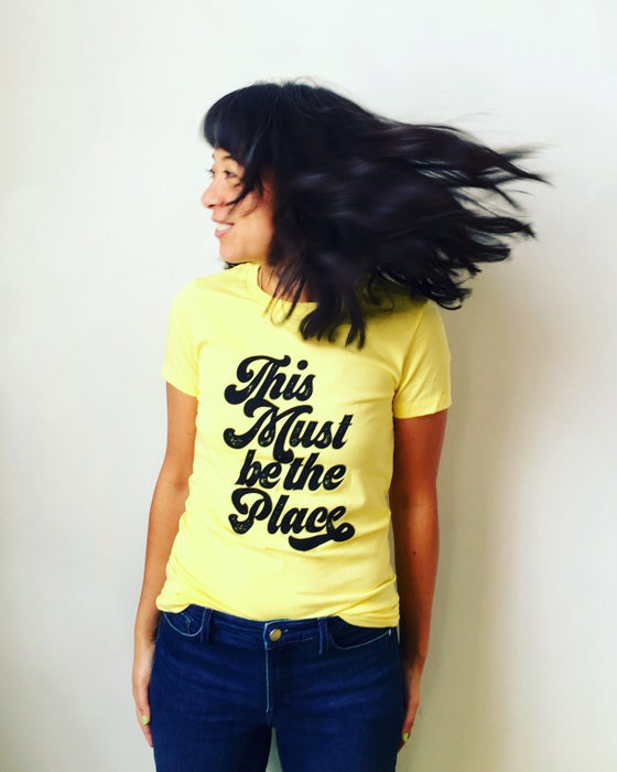 Image of This Must be the Place Lady Tee