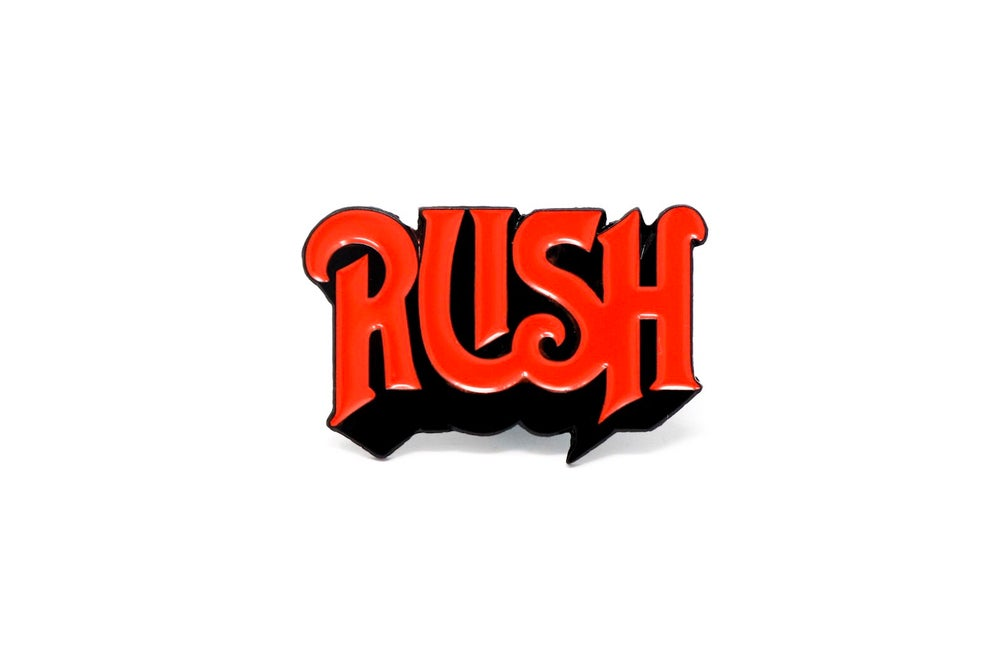 Image of Rush 1st Logo Enamel Pin