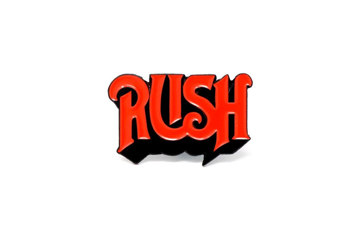 Image of Rush 1st Logo Enamel Pin