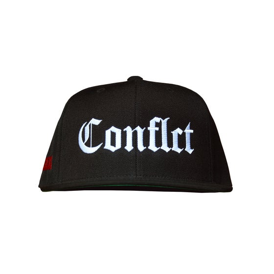 "Image of ""Conflct"" Snapback - Black"