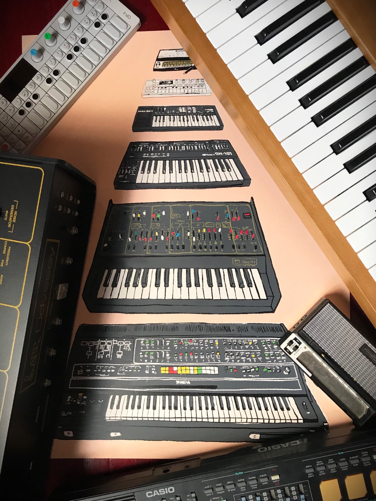 Image of Synth Pyramid MKI - SOLD OUT! Only 25 made.