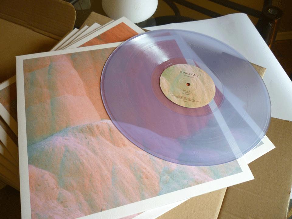 "Image of Cornucopia 'Forever Gone' Ltd. Edition 12"" Transparent Vinyl"