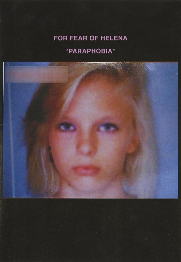 Image of For Fear Of Helena - Paraphobia (ES013)