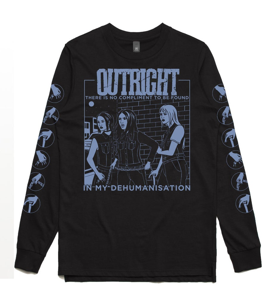 """Image of OUTRIGHT """"HOLLER"""" Long Sleeve Tee"""
