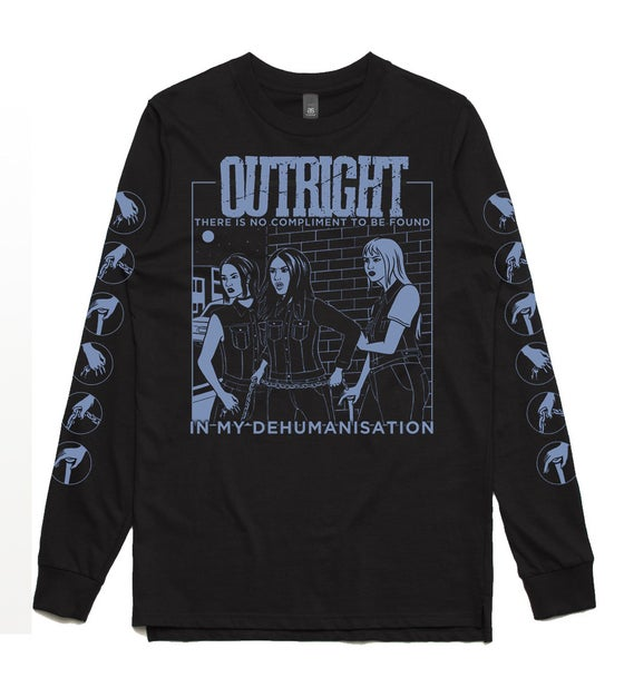 "Image of OUTRIGHT ""HOLLER"" Long Sleeve Tee"