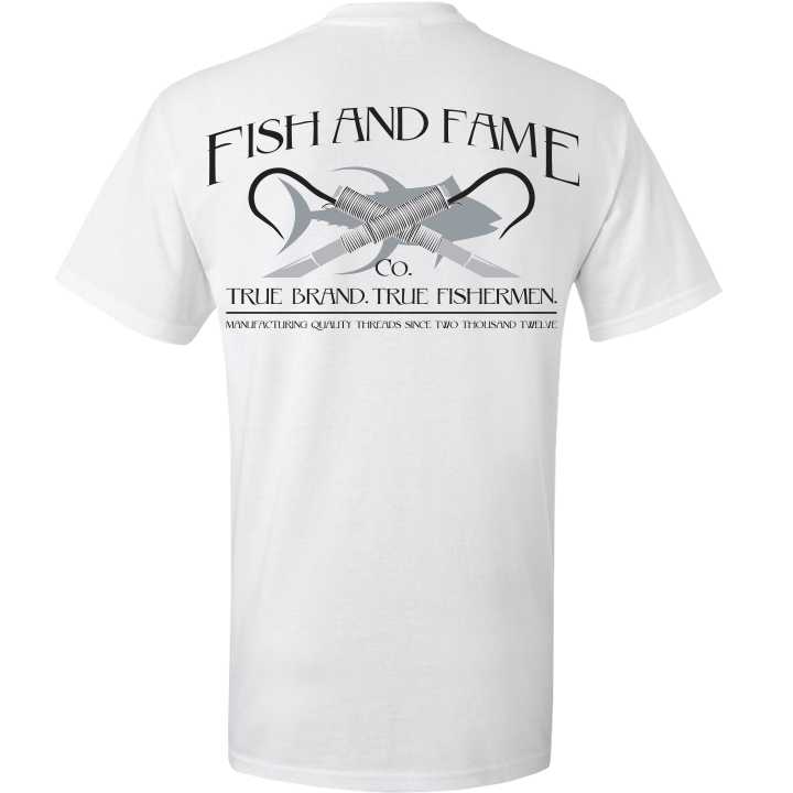 Image of Classic Gaff Tee (white)