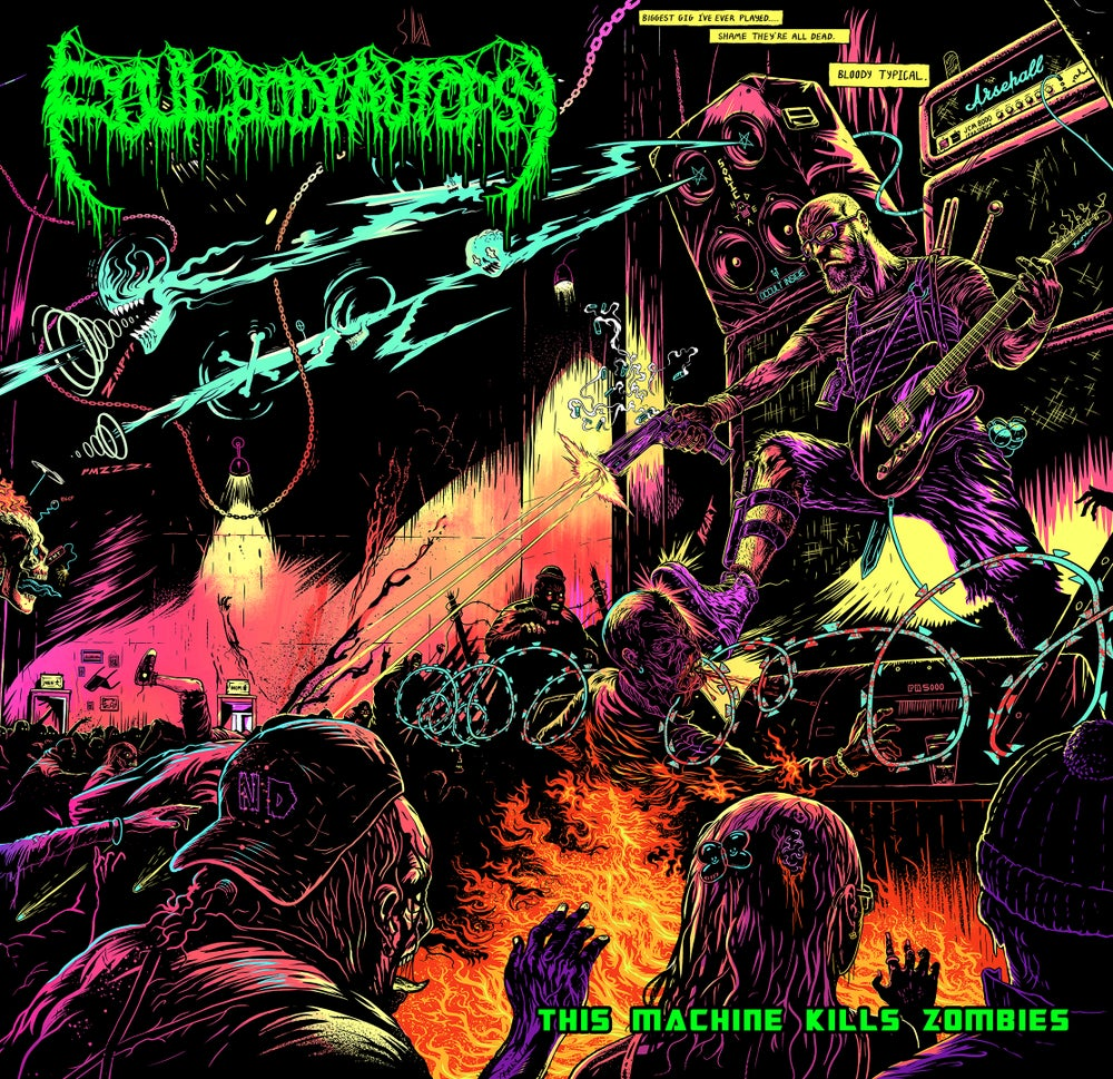 Image of Foul Body Autopsy - This Machine Kills Zombies - CD