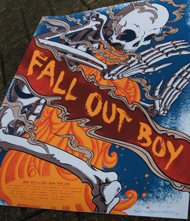 Image of Fall Out Boy - Save Rock and Roll Arena Tour 2013