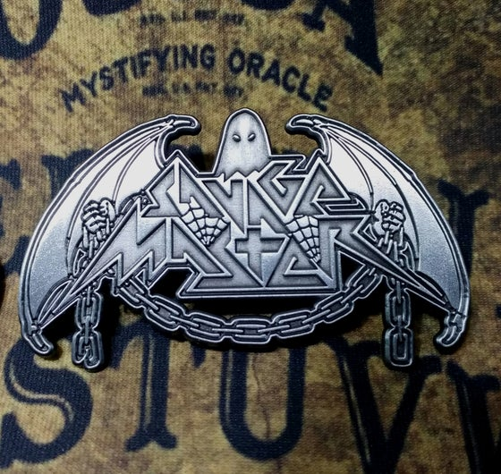 Image of Savage Master Full Logo Big Metal Pin