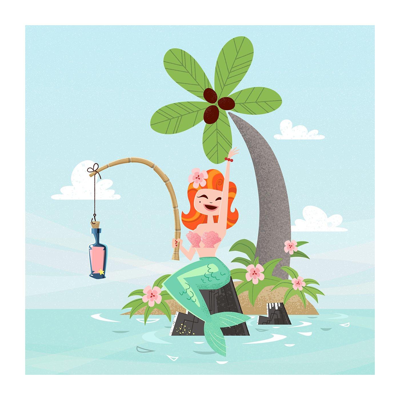 Image of Ginger La Sirène | Ginger The Mermaid