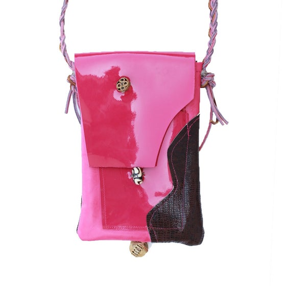 "Image of Pink Leather ""Helen"""