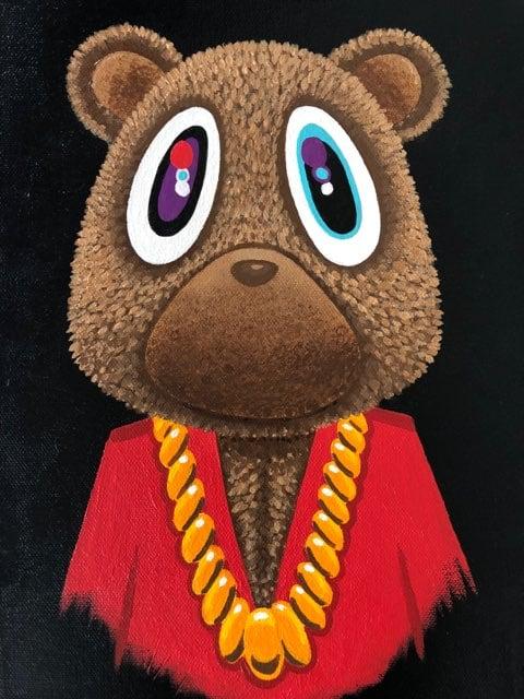 Image of MBDTF - Kanye Bear Canvas Print