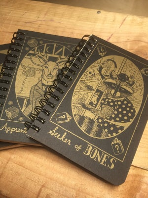 "Image of Tarot Journals (Pocket size 3.5""x7"")"