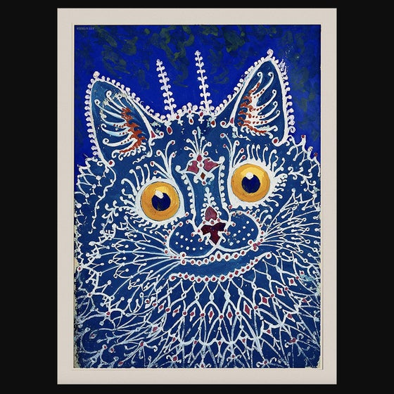 Image of Louis Wain Cat Tapestry