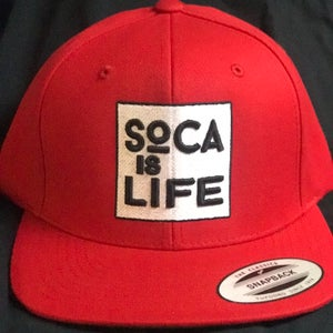 Image of Soca Is Life Snap Back Version 1