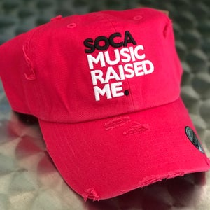 Image of Soca Music Raised Me - Ripped Daddy Hat