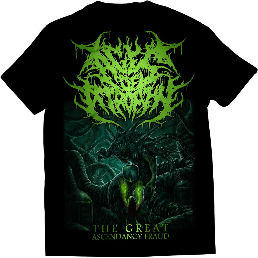 Image of Ages Of Atrophy - The Great Ascendancy Fraud - T-Shirt