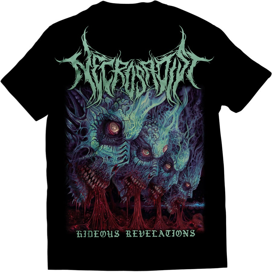 Image of Necrosadist - Hideous Revelations - T-Shirt