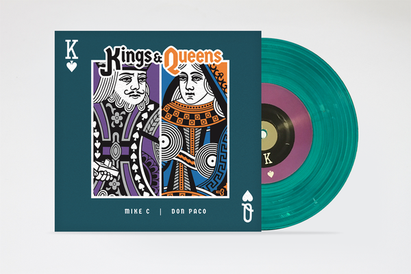"Image of KINGS & QUEENS 7"" by MIKE C & DONPACO"