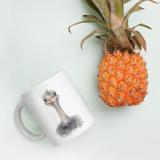 Image of S'up Ostrich Mug