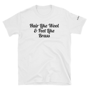 Image of Jesus was black T-shirt