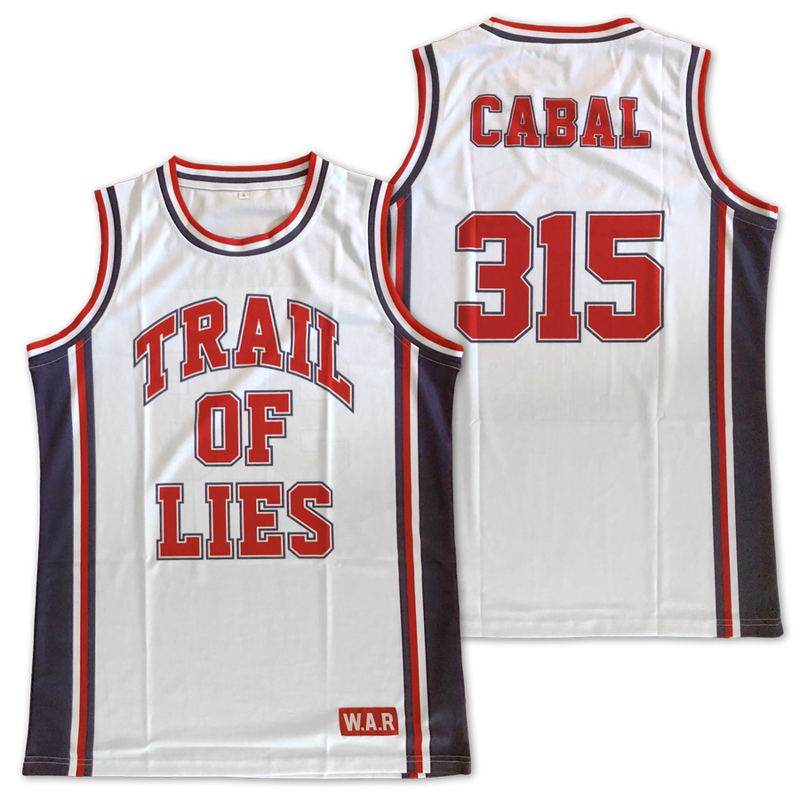 Image of Trail Of Lies x Cabal 315 Basketball Jersey
