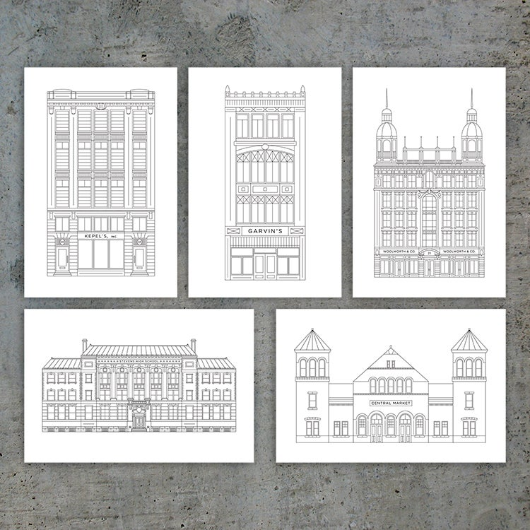 Image of LCB Postcards & Notecards