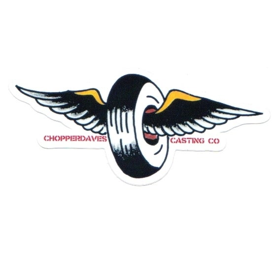 Image of Winged Wheel Sticker