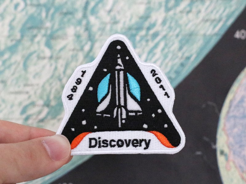 Image of Space Shuttle Discovery Patch