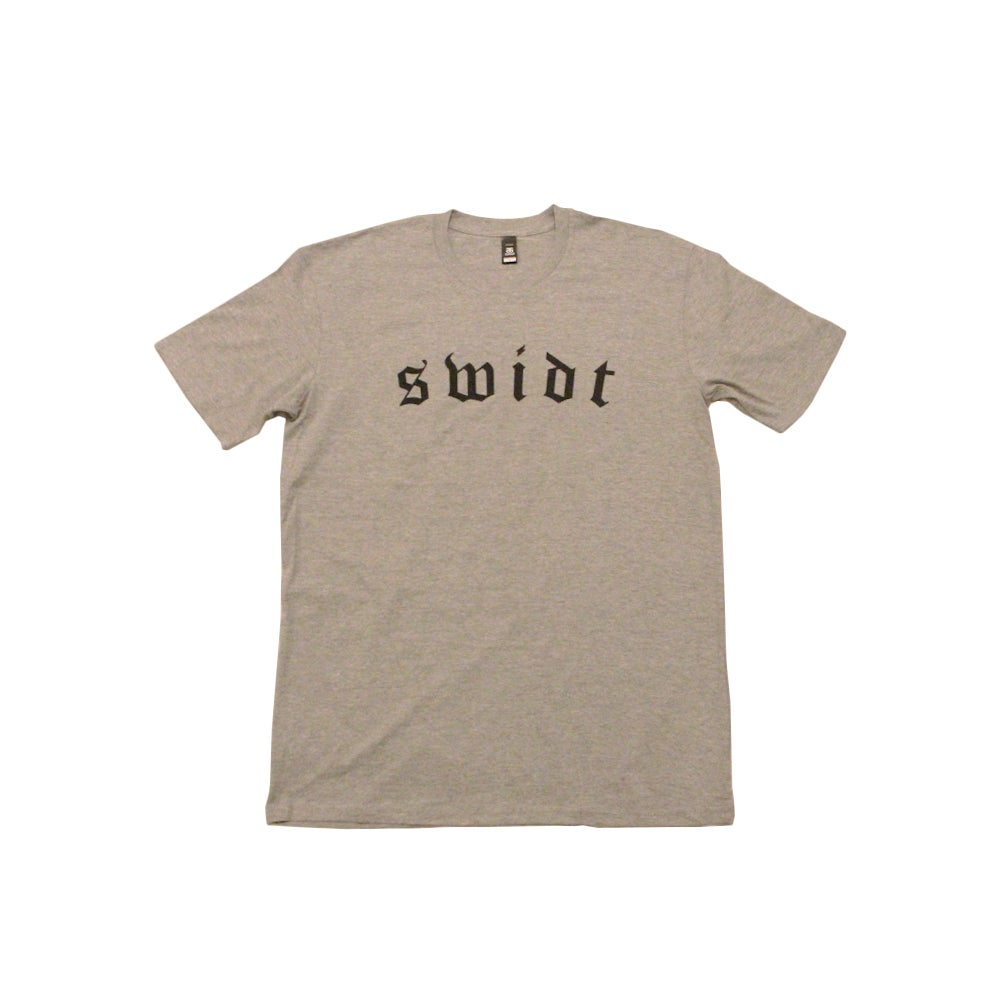 Image of SWIDT Tee Grey Marle NOW $25