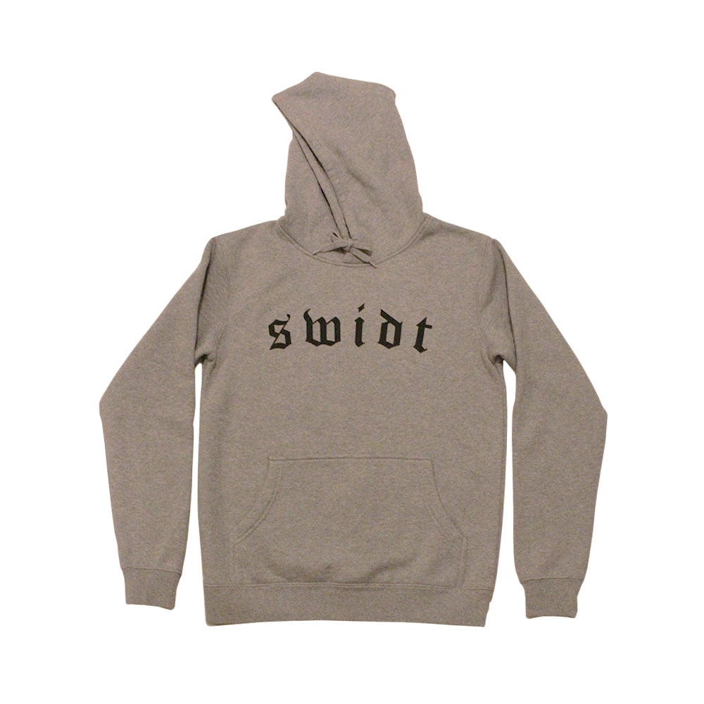 Image of SWIDT Hood Grey Marle NOW $55
