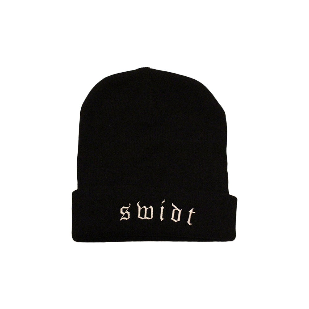 Image of SWIDT Beanie Black NOW $15