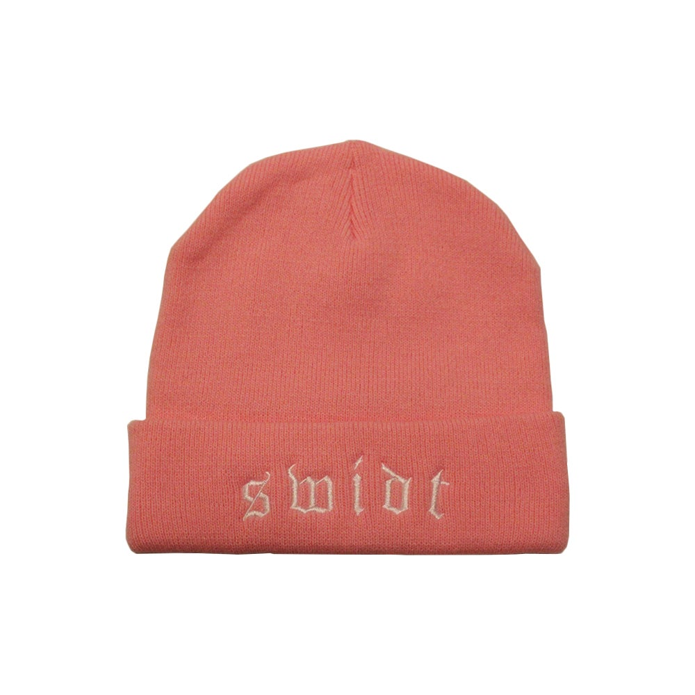 Image of SWIDT Beanie Pink