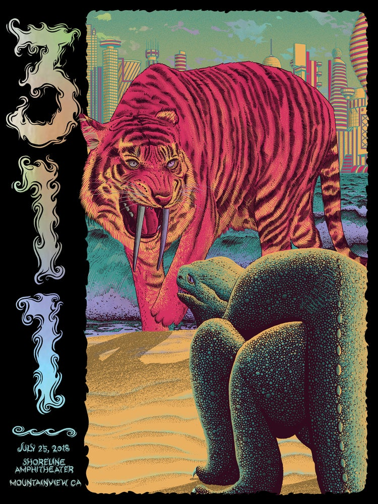 Image of 311 in Mountainview, CA Poster - Foil Variant