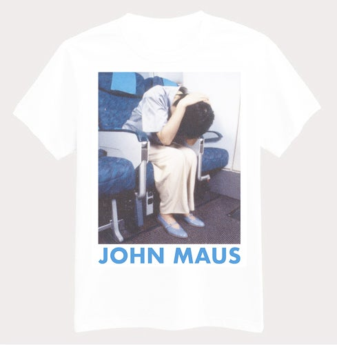 Image of John Maus - 'Brace' T-shirt