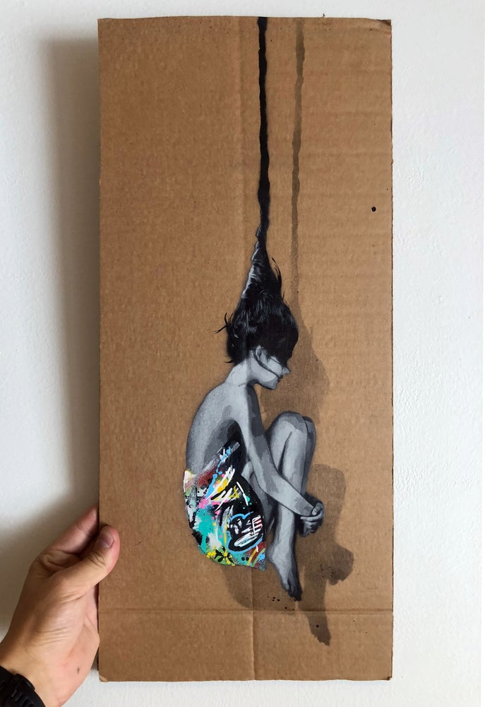 Image of Falling out of counciousness - Cardboard 02