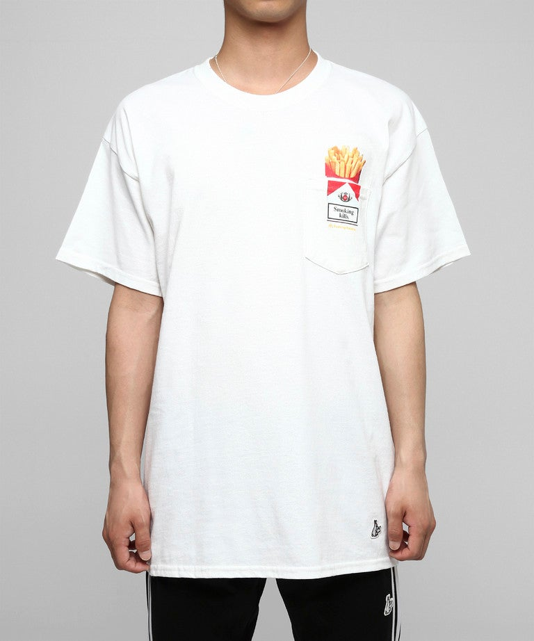 Image of FR2 - LOVE & HATE POCKET TEE (WHITE)