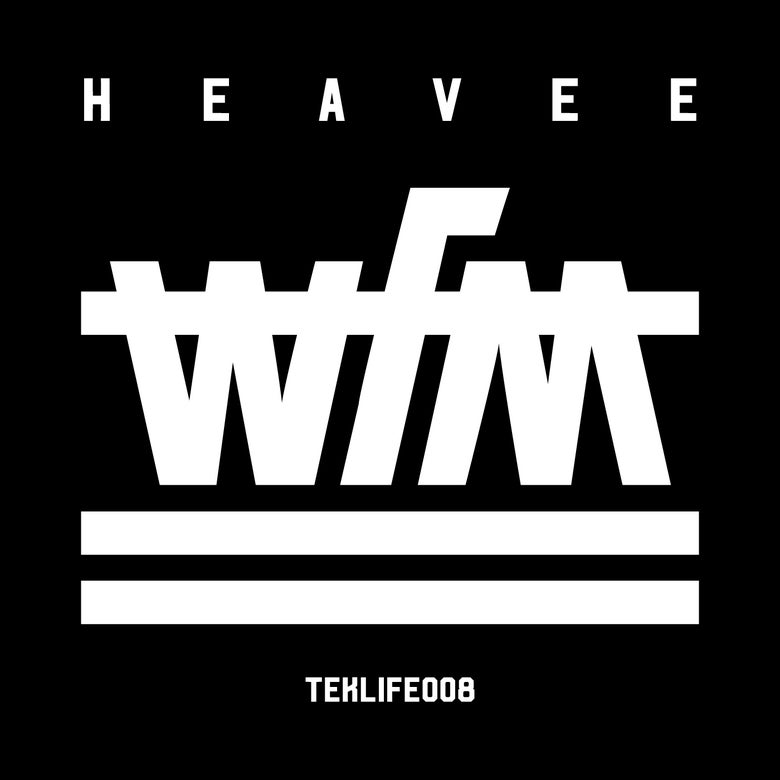 "Image of TEKLIFE008 HEAVEE WFM ( 12"" Vinyl )"