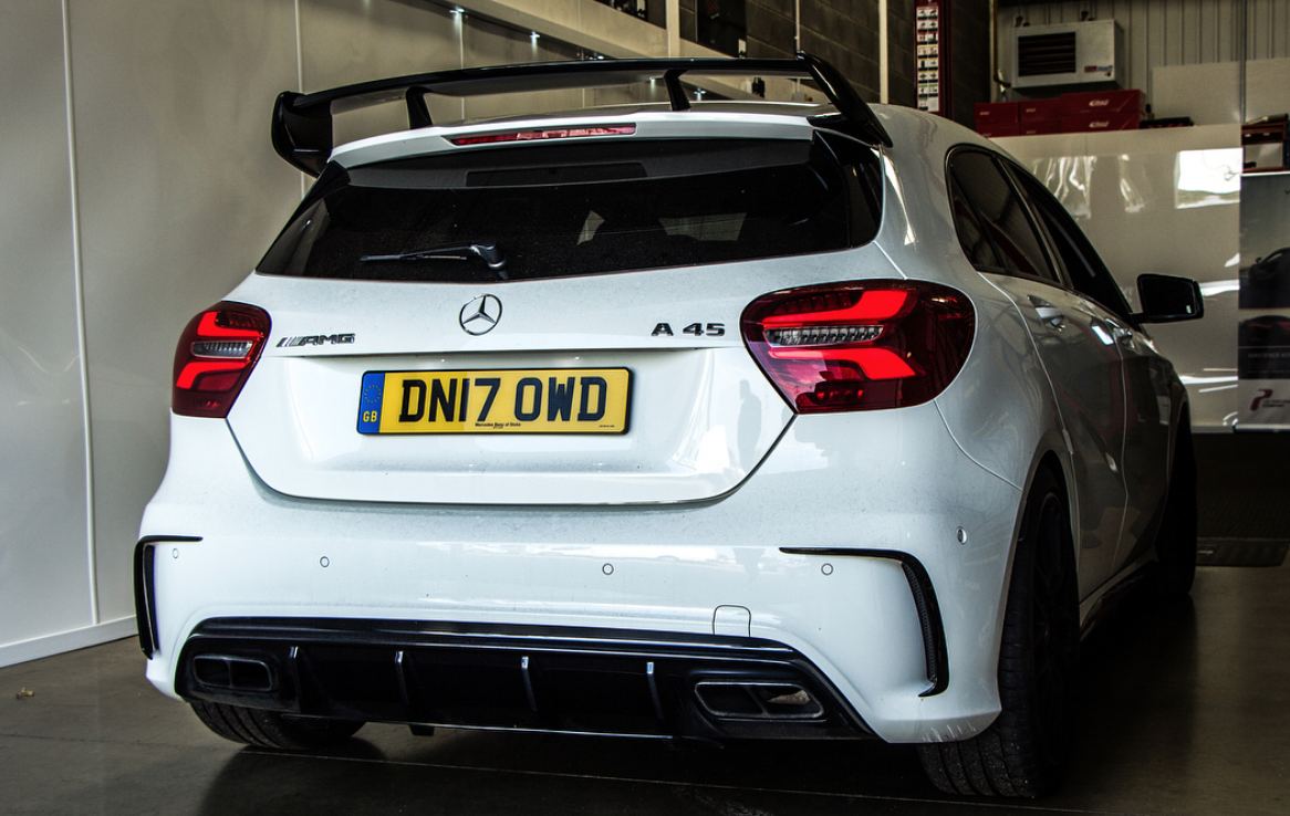 motech performance remus exhaust a45 cla 45 amg. Black Bedroom Furniture Sets. Home Design Ideas